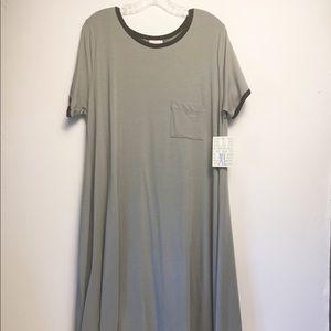 Lularoe Carly Dress Modal Blend Size XL